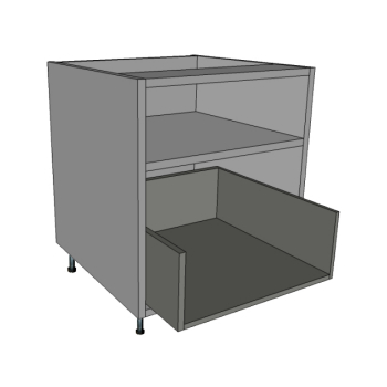 1 Drawer & Internal Top shelf Bedside Cabinets