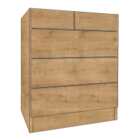 Chest of Drawers type D