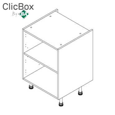 Clicbox Drawerline/Base Units