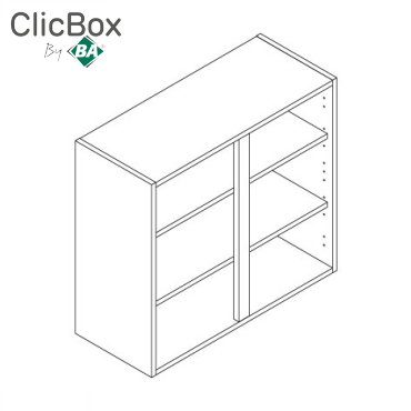 Clicbox 720/900 High Wall Units