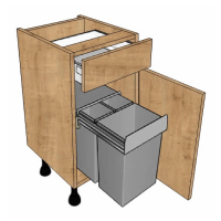 Highline Waste Bin Units