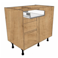 Drawerline blind corner units - Metabox drawer