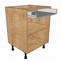 Drawerline open units - Soft close drawer