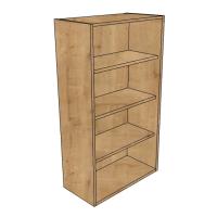 1065 high dresser shelved units diy kitchen units free for Kitchen cabinets 800mm wide