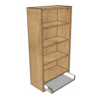 400 Dresser Unit, 1 Soft close Drawer