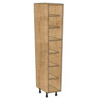 300mm Wide Splayed Larder Cabinet