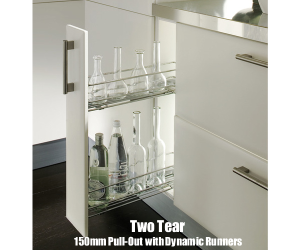 Two Tier Pull Out Storage Unit