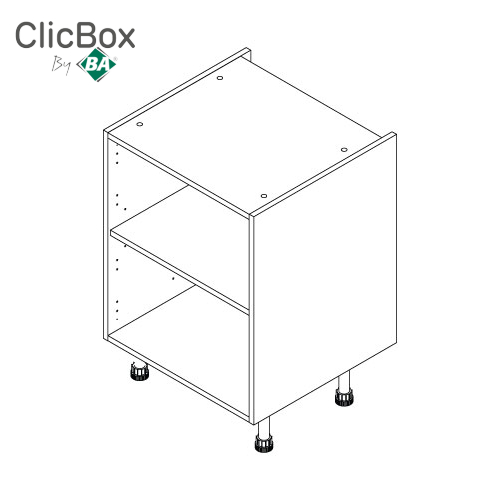Clicbox Drawerline/Base Single Unit