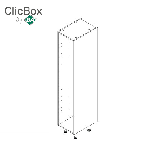 Clicbox Anthracite 400 Tall Unit 2150 High