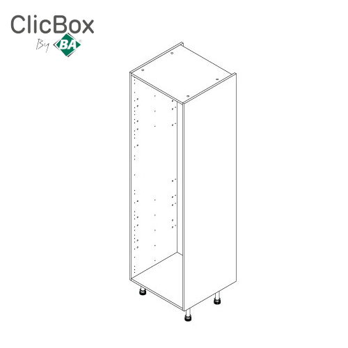 Clicbox Anthracite 600 Tall Unit 2150 High