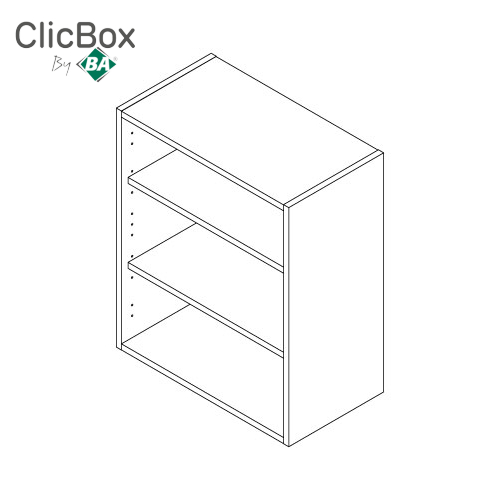 Clicbox 720 High standard Wall Unit