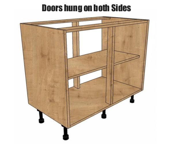 800 wide peninsular base unit bestq kitchens for Kitchen cabinets 800mm wide