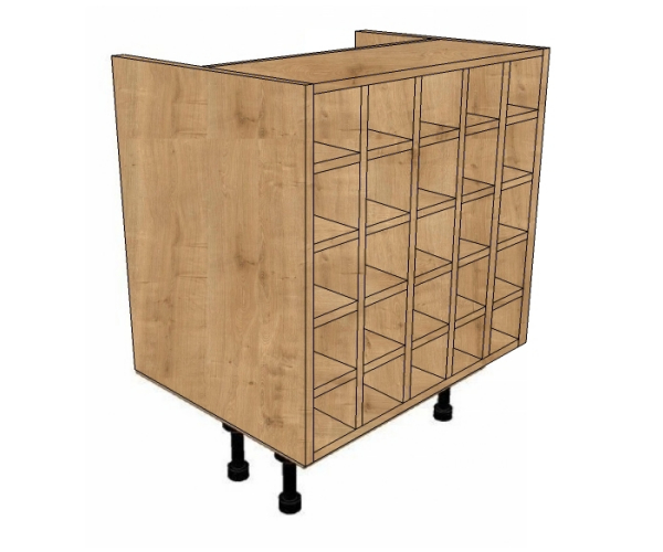600mm Wide Wine Rack Base Unit