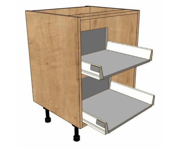 800 wide 2 pan drawers unit metabox drawers bestq kitchens for 600 kitchen drawer unit