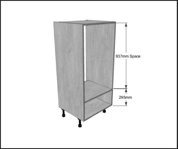 Double Oven Housing 1 Metabox Dwr 1250mm High Bestq