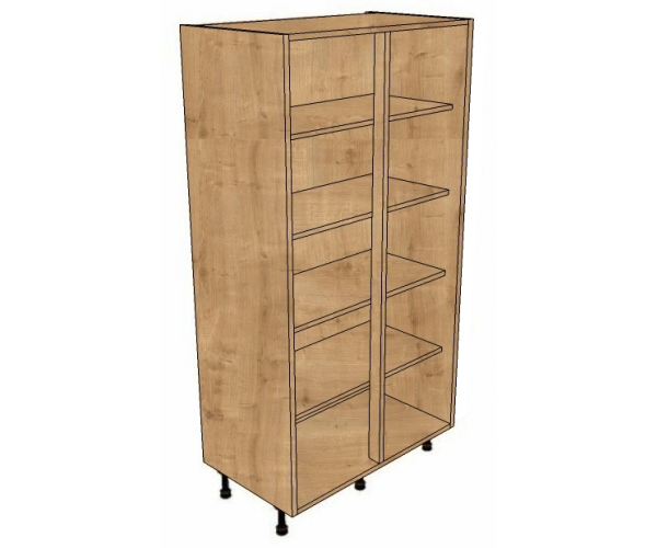 700 shelved cabinets for full door 1825mm high bestq for Kitchen cabinets 700mm