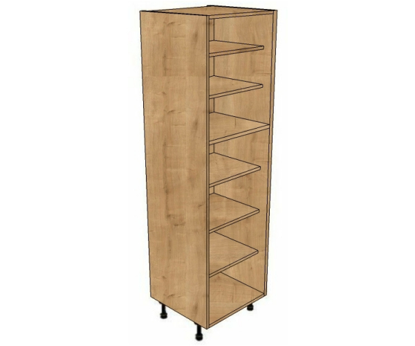 400 shelved larder cabinet 1970mm high bestq kitchens for Tall kitchen drawer unit