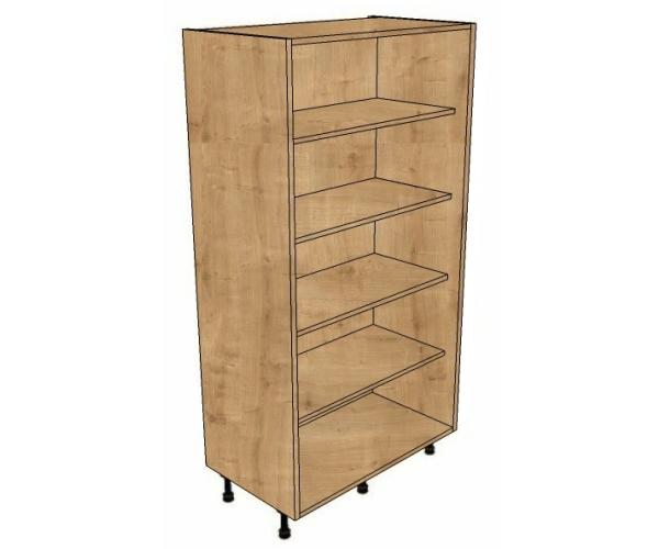 900 larder open unit 1825mm high bestq kitchens for Kitchen cabinets 900mm wide