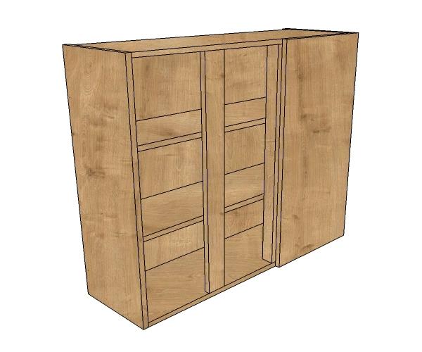 1200 blind corner wall 720 high diy kitchen units for Kitchen cabinets 1200mm