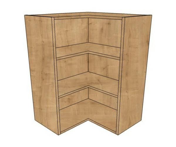 600x600 l shaped corner wall 720 high diy kitchen units for Large kitchen wall units