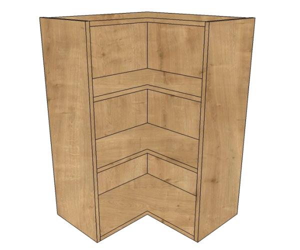 600x600 l shaped corner wall 900 high diy kitchen units for Large kitchen wall units