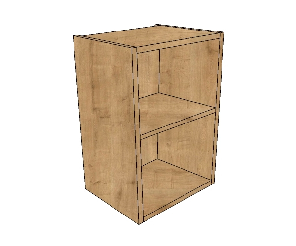 400mm Wide Low Height Wall Open Unit Bestq Kitchens