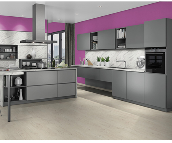 Valore Dust Grey Kitchen