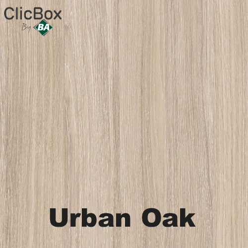 Clicbox Urban Oak Colour sample