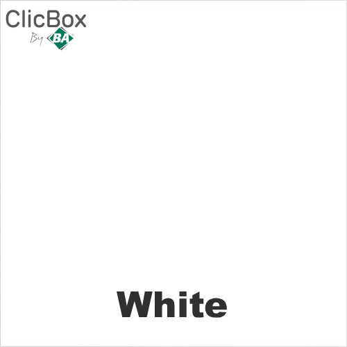 Clicbox White Colour sample