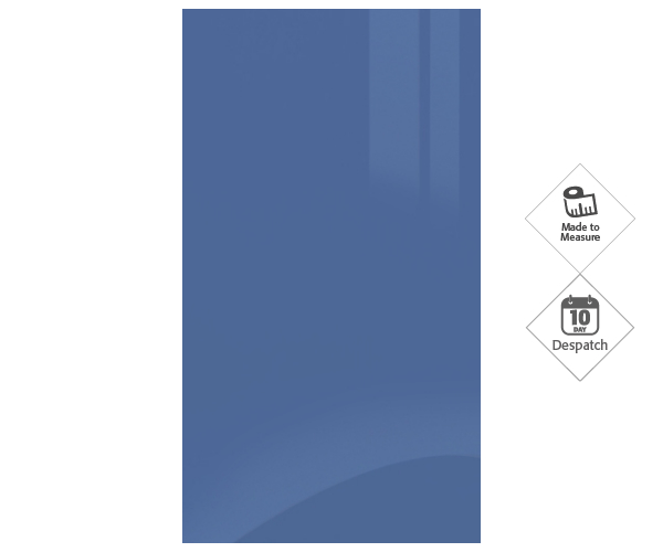 Zurfiz Ultragloss Baltic Blue Doors