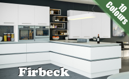Firbeck Supergloss Kitchen Doors, Available in 3 Gloss colours