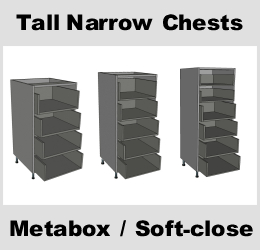 Tall Boy Chests range